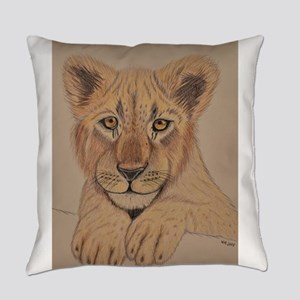 Lion Cub Everyday Pillow