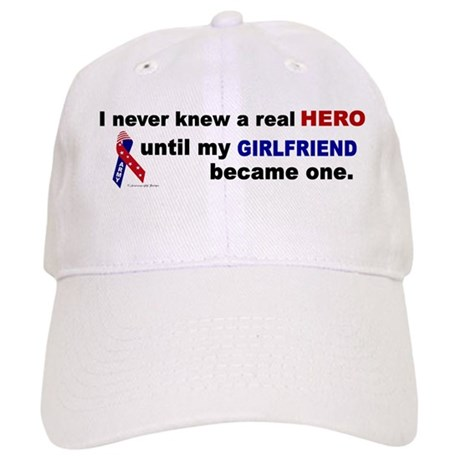 Never Knew A Hero.....Girlfriend (ARMY) Cap