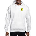 """Hooded Moose Sweatshirt, 3"""" moose"""