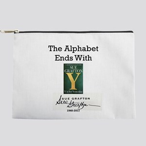 Alphabet Ends With Y Makeup Bag
