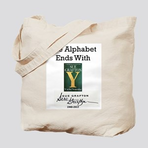 Alphabet Ends With Y Tote Bag