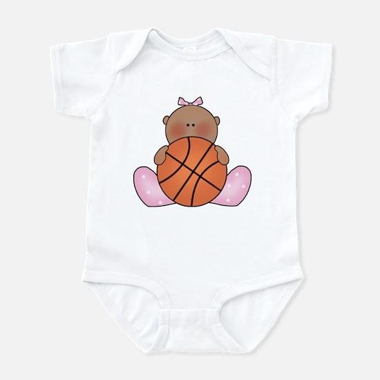 Lil Basketball Baby Girl-Af Infant Bodysuit