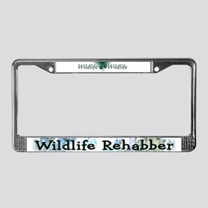 Wildlife Rehab License Plate Frame