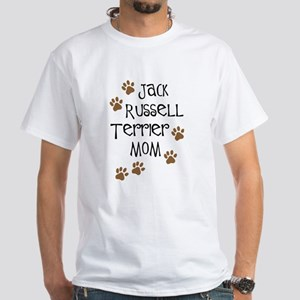 Jack Russell Terrier Mom White T-Shirt