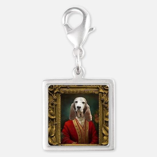 Duke in Baroque Frame Charms