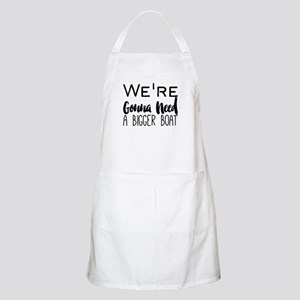 We're Gonna Need a Bigger Boat Light Apron