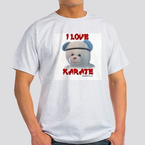 I LOVE KARATE (BEAR) Light T-Shirt