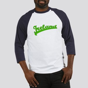 Green Baseball Font IRELAND Baseball Jersey