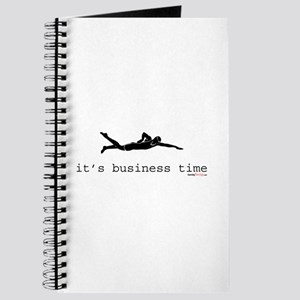It's Business Time Swimming Journal