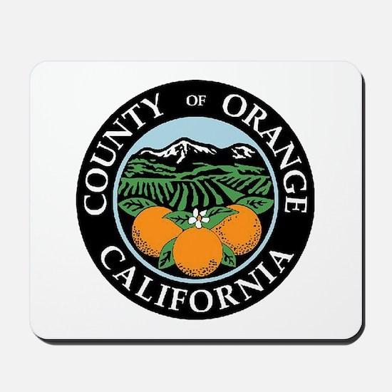 Orange County Mousepad