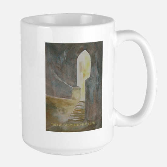 Twelve Steps into the Light Mugs
