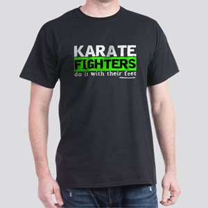KARATE FIGHTERS do it with th Dark T-Shirt