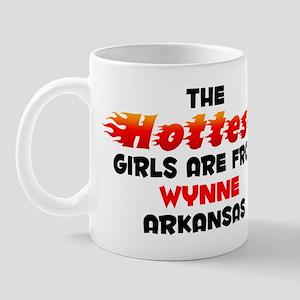 Hot Girls: Wynne, AR Mug