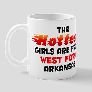 Hot Girls: West Fork, AR Mug