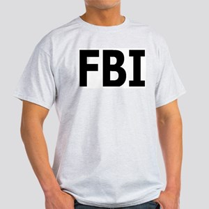 FBI Ash Grey T-Shirt