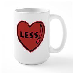 Heartless Valentine Large Mug