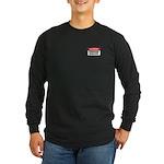 Choking Hazard Long Sleeve Dark T-Shirt