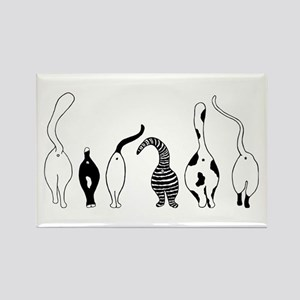 Cat Butts Magnets