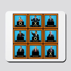 Presidential Squares Mousepad