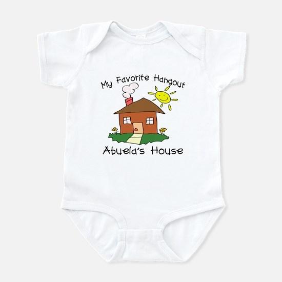 Hangout Abuela's House Infant Bodysuit