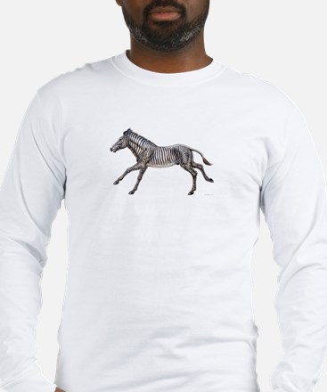 Grevy's Zebra ~ Long Sleeve T-Shirt (2 Sides)