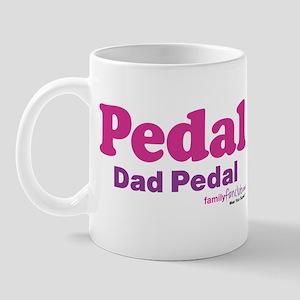 Pedal Dad Pedal Mug