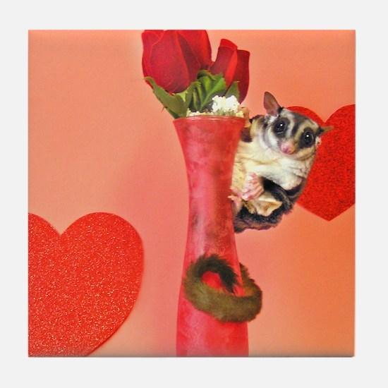Valentine's Day #3 Tile Coaster