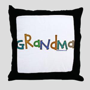 CLICK TO VIEW Grandma Throw Pillow