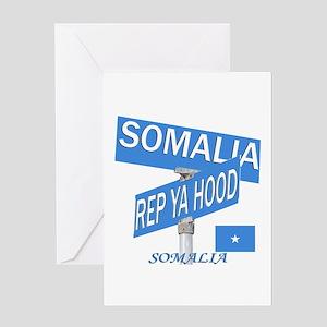REP SOMALIA Greeting Card