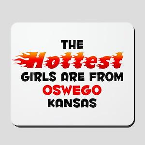 Hot Girls: Oswego, KS Mousepad