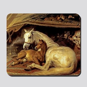 Mare & Foal Mother's Day Mousepad