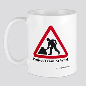 project_team_at_work_ Mugs