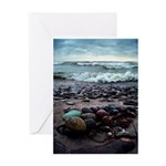 Lake Erie and Maine Greeting Card