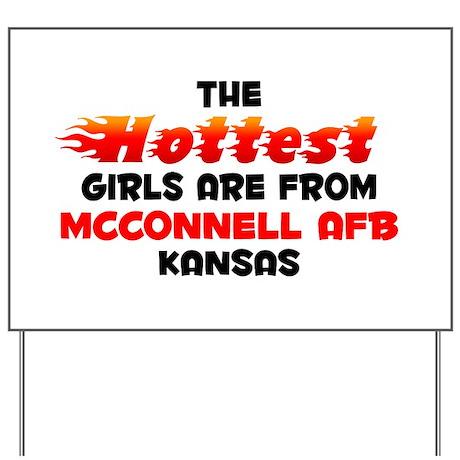 Hot Girls: McConnell AF, KS Yard Sign