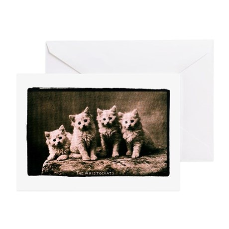 The Aristocrats Vintage Kitte Greeting Cards (Pk o