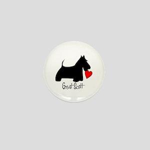 Great Scott Heart Mini Button