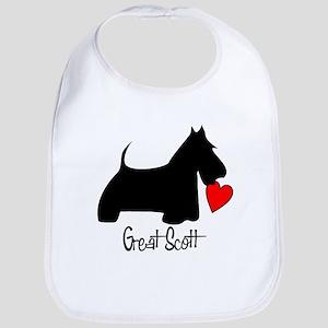 Great Scott Heart Bib