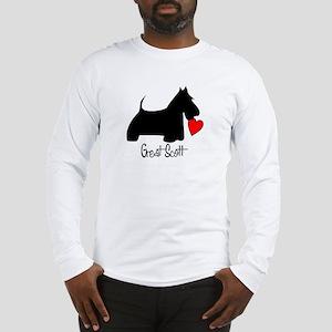 Great Scott Heart Long Sleeve T-Shirt