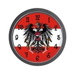 Austria Flag Wall Clock