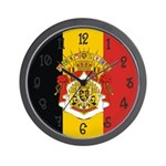 Belgium Flag Wall Clock