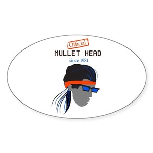Mullet Stickers - CafePress 3a6662bf2d57