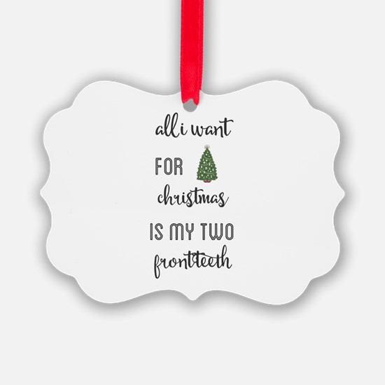 all i want for christmas is my tw Ornament