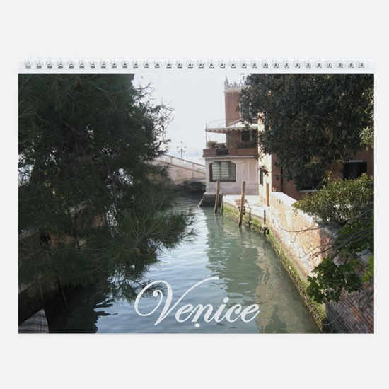 Cute Venetian Wall Calendar