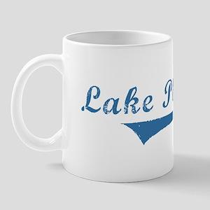 Lake Placid NY Vintage t-shir Mug