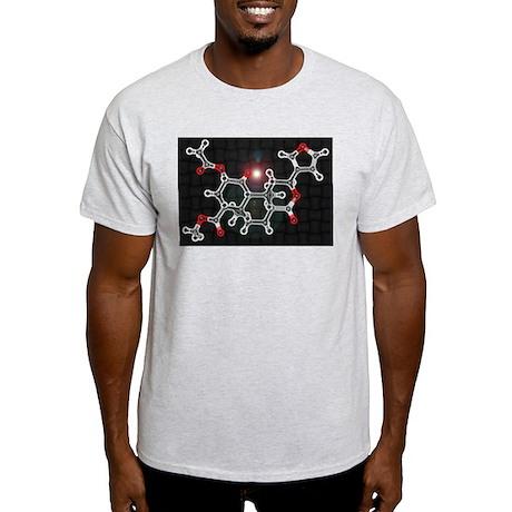 Salvinorin-A molecule Light T-Shirt