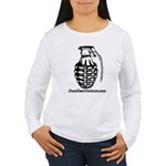 BoneHead Grenade Women's Long Sleeve T-Shirt