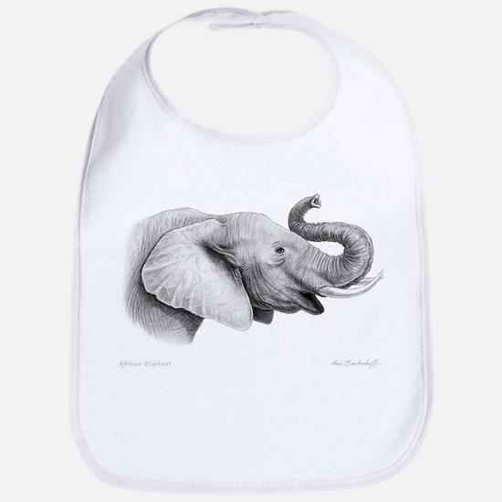 Lucky Elephant ~ Baby Bib