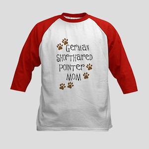 G. Shorthaired Pointer Mom Kids Baseball Jersey
