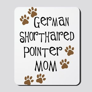 G. Shorthaired Pointer Mom Mousepad