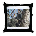 Great Horned Owl - Throw Pillow